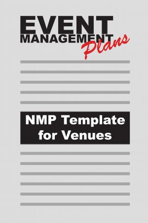 Noise Management Plan template for Event Venues