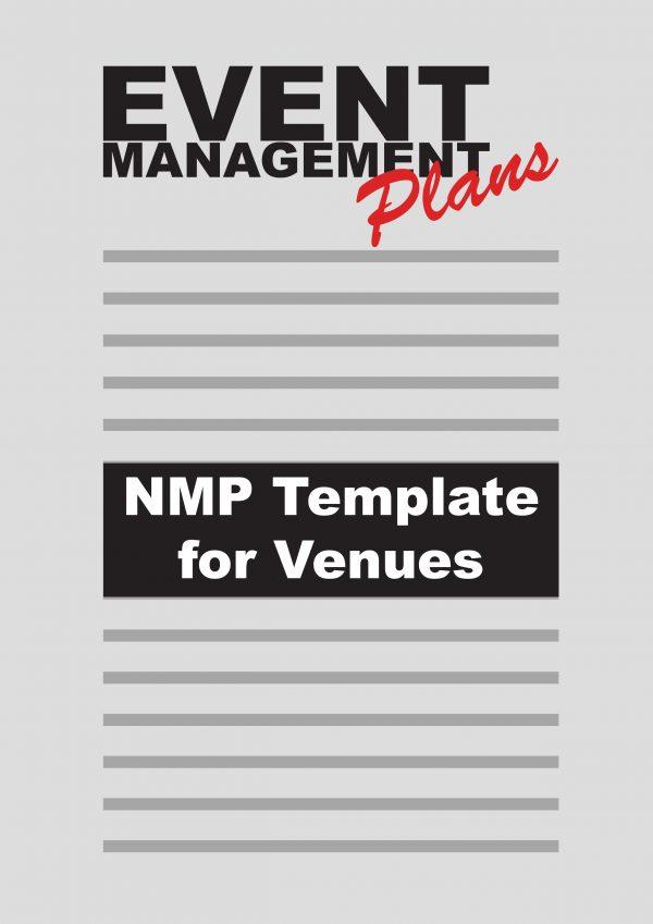 Noise Management Plan template for Event Venues