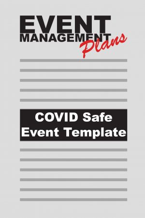 The best template to create a detailed COVID Safe event plan